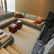 Contemporary Living Room by AD | Design Studio