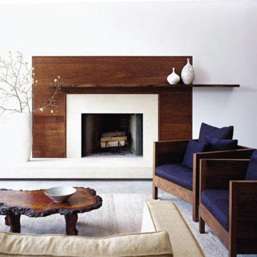 Modern Fireplace Surrounds Houzz