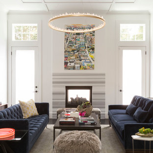 Living Rooms with Black Sofas | Houzz