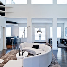 Contemporary Living Room by Atmosphere 360 Studio