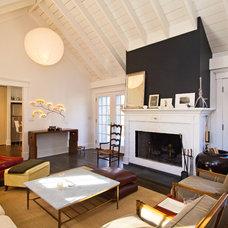 Contemporary Living Room by Benco Construction