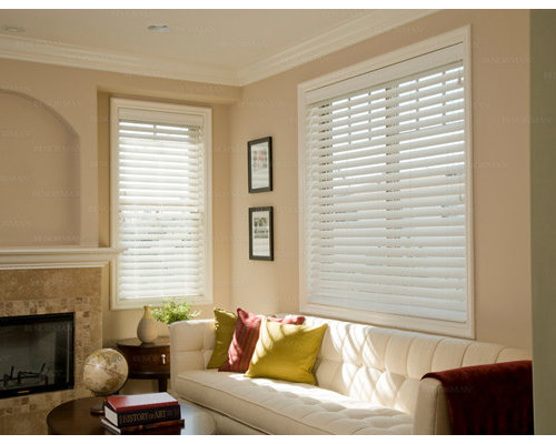 living room window blinds. Inspiration for a contemporary living room remodel in Other Blinds For Living Room  Houzz