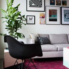Contemporary Living Room by bright designlab