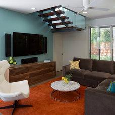 Contemporary Living Room by Laura Britt Design