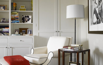 10 Perfect Pairings of Reading Chair and Lamp