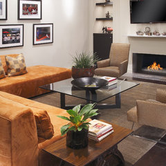 contemporary living room by Carson Poetzl, Inc.