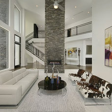Contemporary Living Room by Contour Interior Design, LLC