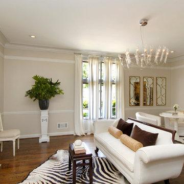 Contemporary Living Room- Dana Pope Designs