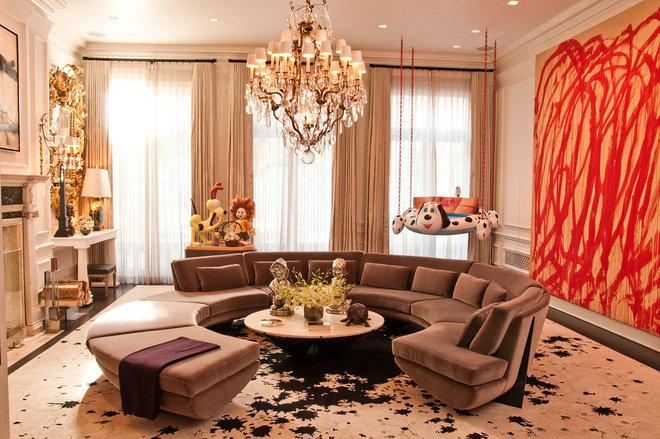 Contemporary Living Room by DC Interior Decor