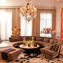Contemporary Living Room by DC Interior Decor