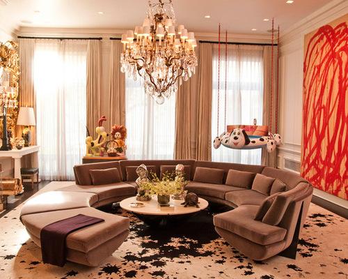 Round Living Room | Houzz