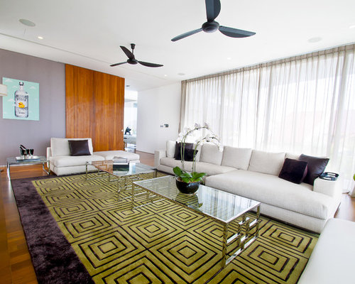 White lime green rug living design ideas renovations photos for Lime green living room ideas