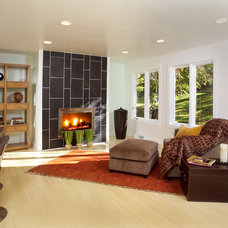 Contemporary Living Room by Marcia Prentice Photography