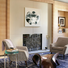 Contemporary Living Room by Dineen Architecture + Design