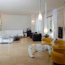 Contemporary Living Room by Eran Turgeman - Photographer