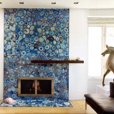 Contemporary Living Room by Erica Islas  / EMI Interior Design, Inc.