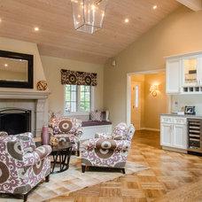 Contemporary Living Room by Evars + Anderson Interior Design