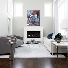 Contemporary Living Room by FIG Interiors