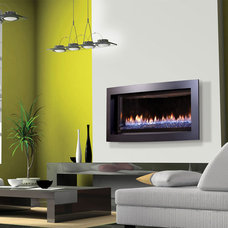 Contemporary Living Room by CJ's Home Decor & Fireplaces