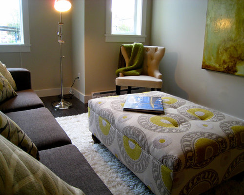 Fabric Ottoman Home Design Ideas Pictures Remodel And Decor