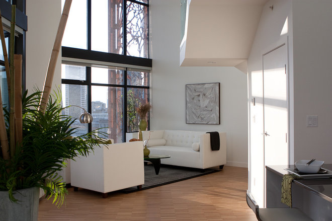 Contemporary Living Room by Flüff Designs