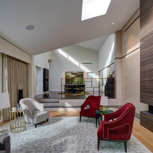 Split-Level Living Room Ideas & Photos