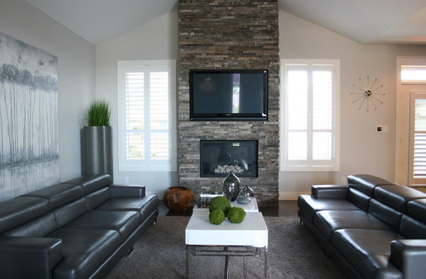 My Houzz Contemporary Beauty In An Ontario Home