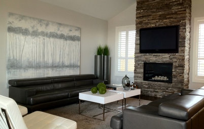 My Houzz: Contemporary Beauty in an Ontario Home