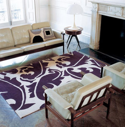 Contemporary Living Room Rug 11 area rug rules and how to break them