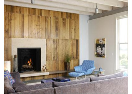 Contemporary Living Room by Billinkoff Architecture PLLC