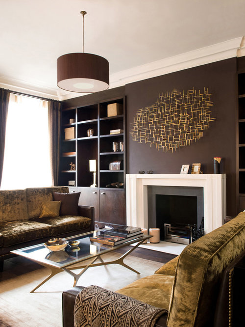 Dark Brown Walls Ideas, Pictures, Remodel And Decor