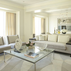 Contemporary Living Room by Jessica Lagrange Interiors