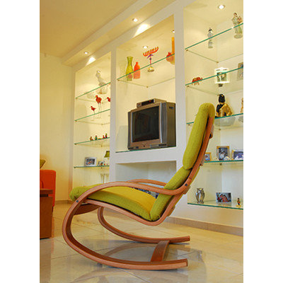 Contemporary Living Room Contemporary Living Room. A classic wooden rocking  chair ... - Adding A Rocking Chair To Your Home