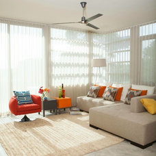 Contemporary Living Room by This Is KC