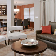 contemporary living room by Jason Ball Interiors, LLC