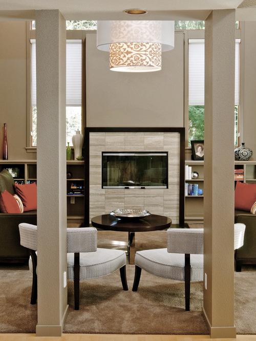 Modern Stone FireplaceHouzz