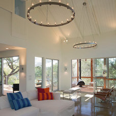 Contemporary Living Room by Jay Corder, Architect