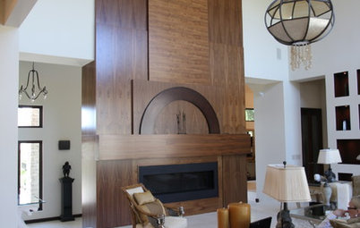 8 Extraordinary Fireplaces Sparked by Ingenuity