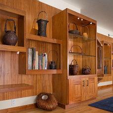 Contemporary Living Room by Kirstin Havnaer, Hearthstone Interior Design, LLC