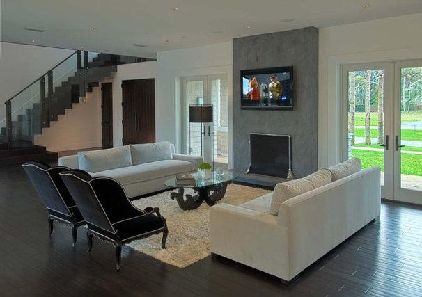 Contemporary Living Room by kmh design, inc.