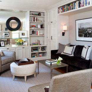 Chocolate sofa houzz - La residence farquar lake de altus architecture design ...
