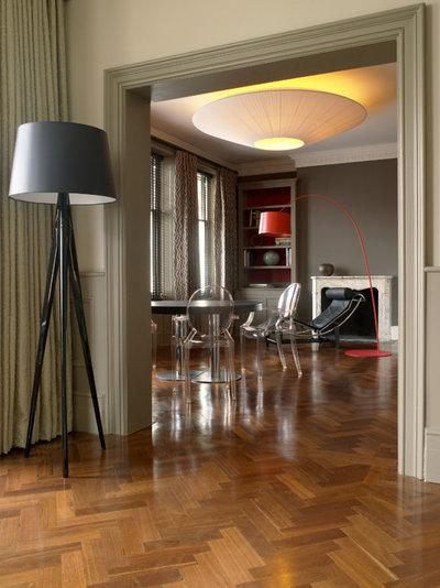 Contemporary Living Room by Laura Hammett Ltd