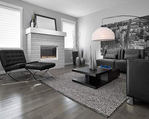 Grey hardwood flooring home design ideas pictures remodel and decor