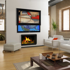contemporary home electronics by Media Decor