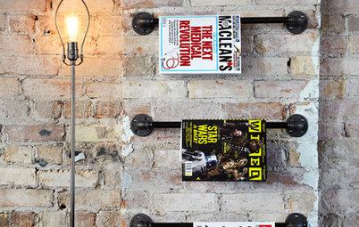 Spara snyggt: Fiffig tidningsförvaring