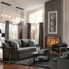 Living Room by MARC WILLIAMS INTERIORS