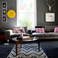 Contemporary Living Room by MintSix Boutique Homewares & Styling