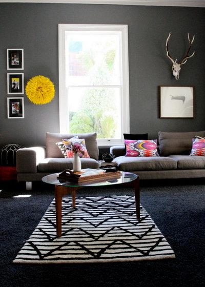 Trend Contemporary Living Room Contemporary Living Room