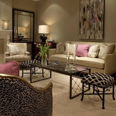 Contemporary Living Room by Mondays House of Design