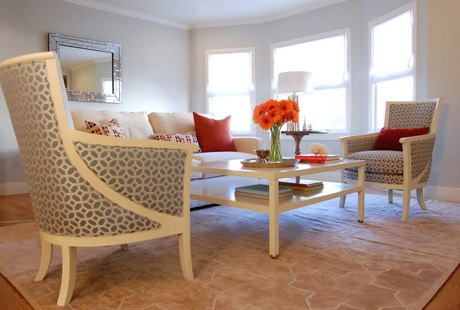 Contemporary Living Room by Niche Interiors